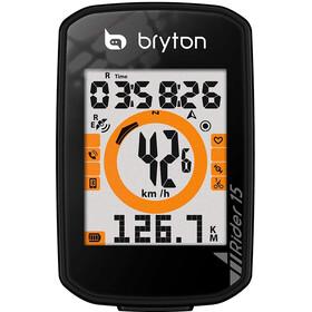 Bryton Rider 15 E Fahrradcomputer black